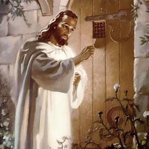 Jesus à porta!