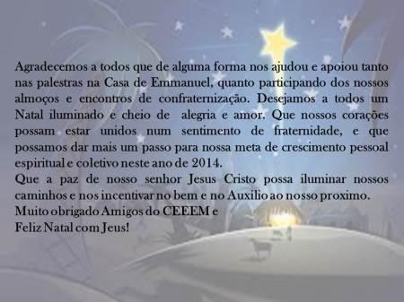 cartao de Natal 2013
