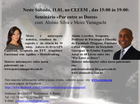 Seminario com Aloísio Silva e Meire Yamaguchi
