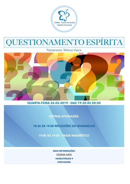 Questionamento Espírita